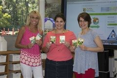 Ms. Johnson, Ms. Knodel, and Ms. Senn were awarded a Florida Agriculture in the Classroom grant for the 3rd grade