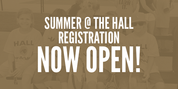 Summer at The Hall Registration