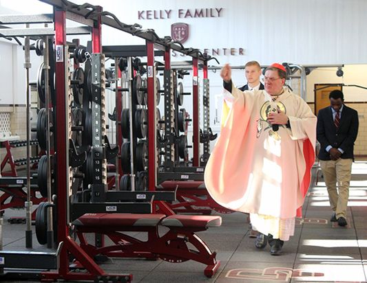 BLESSING OF KELLY WELLNESS CENTER