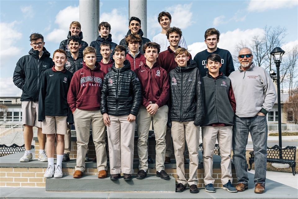DBP Ski Team with Coach Phil Godwin '82