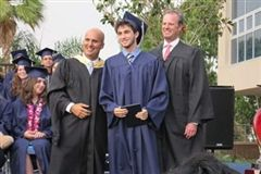 Ben at his Sierra Canyon High School graduation in 2009.
