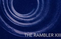 A snippet of the front cover of The Rambler, featuring