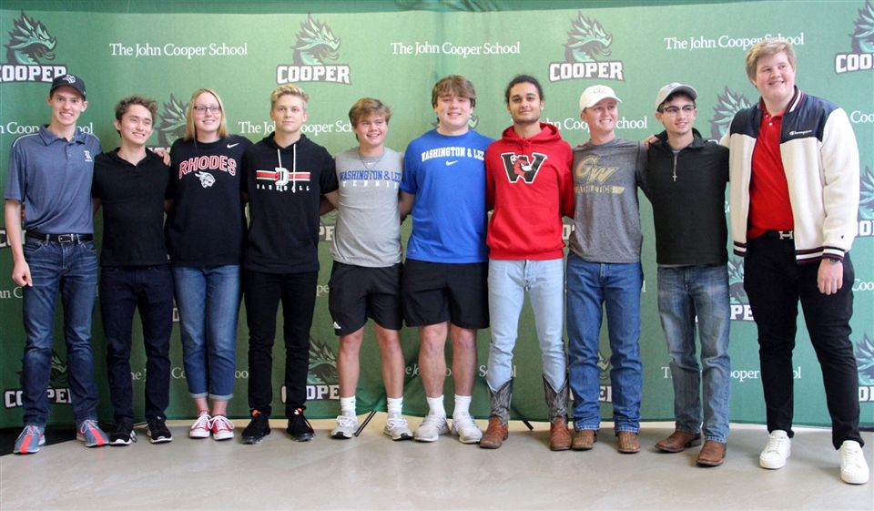 10 Dragons will compete at the college level next year.
