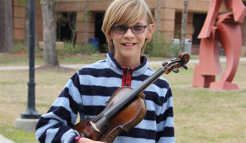 Selected to the Texas Music Educators Association (TMEA) Region 9 Junior All-region Symphony Orchestra, Second Violin section.