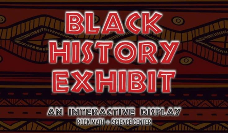 Thanks to this video, all can enjoy this year's Black History Exhibit.