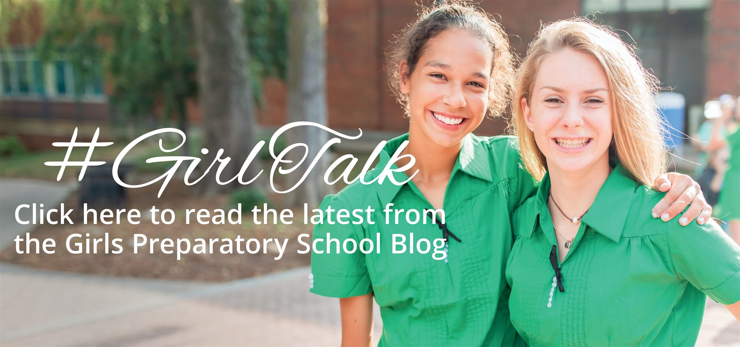 Click here to read the latest from the Girls Preparatory School Blog