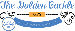 The Golden Buckle Logo