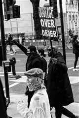 Darrel Hunter - Protest in London