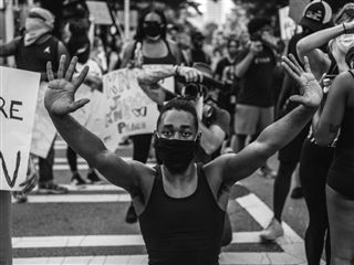 Lynsey Weatherspoon - Protest in Atlanta