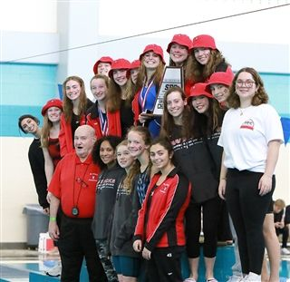 2020 SPC GIRLS' SWIMMING AND DIVING CHAMPIONS