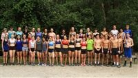 2016 Girls' Cross Country pre-season training in Virginia Beach