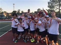 Boys' Tennis 3-2 win over Kinkaid