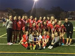 Girls' Soccer - 2018 HJPC Champs!