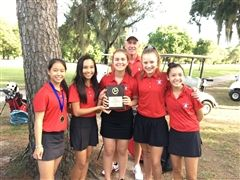 2018 HJPC Girls's Golf Champions