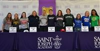 Eleven Seniors at the 2019 Athletic Signing event