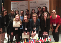 SJA Students at the Cleveland International Model United Nations Conference