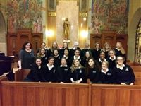 The Academy Chorale performs at the CSPJ Respect Life Mass