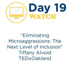 """Eliminating Microaggressions"" - Day 19"