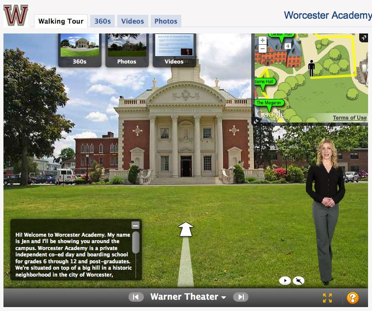 Worcester Academy Virtual Campus Tour