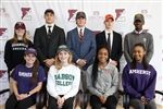 The nine seniors who announced college athletic commitments brings the total thus far for the Class of 2019 to 17.