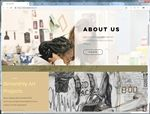A screengrab of the EHS Art Pod homepage.