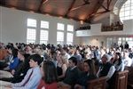 Spring Family Weekend began with a packed chapel service.
