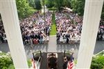 Episcopal High School's 180th Commencement Exercises took place on Hoxton Circle on a beautiful day.