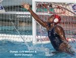 Ashleigh Johnson was the goalkeeper on the U.S. women's water polo team that took gold in the 2016 Olympics.