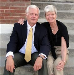 Hayne Hipp '58 and his wife Anna Kate