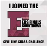 A sampling of the promotional graphics that went along with #EHSFinalsCountdown on June 1.