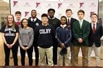Erin Phillips, Keil Reedich, Hailey Simmons, Sergio Portobanco, Shearer Xi, Tola Banjoko, Perris Jones, Thomas Krieger, John Pupel, and Matt Berendsen have all committed to extend their athletic careers into college.