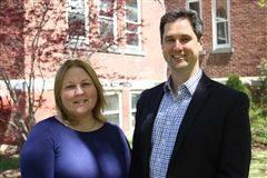 Dr. Jennifer Zaccara and Scott Buckley '02