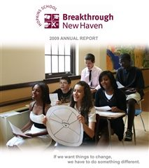 2009 Breakthrough New Haven Annual Report