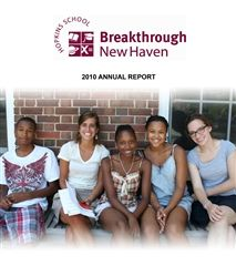 2010 Breakthrough New Haven Annual Report