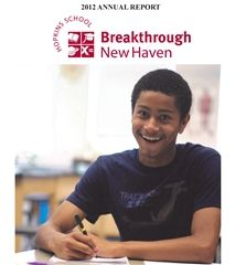 2012 Breakthrough New Haven Annual Report