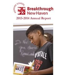 2014 Breakthrough New Haven Annual Report