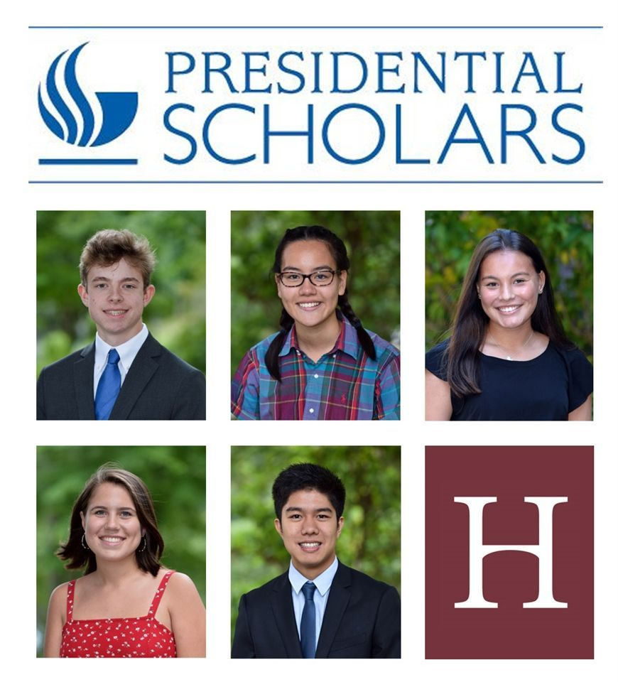 Five Seniors Named Presidential Scholar Candidates