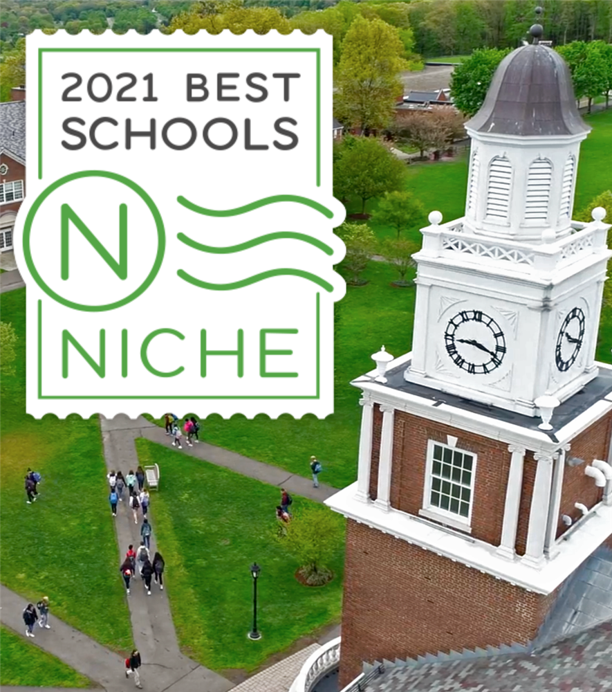 Hopkins Ranked #1 Private Day School in CT!