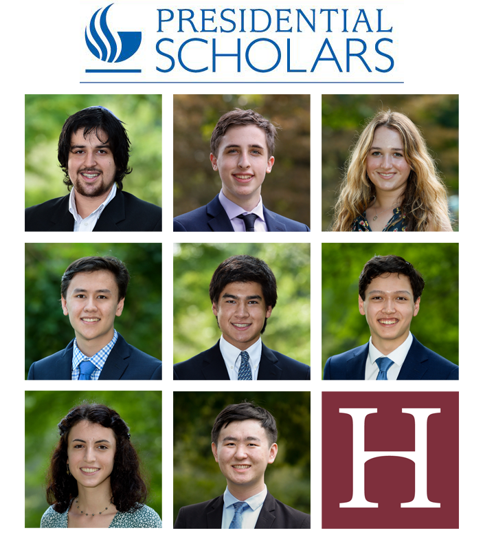 Eight Seniors Named Presidential Scholar Candidates