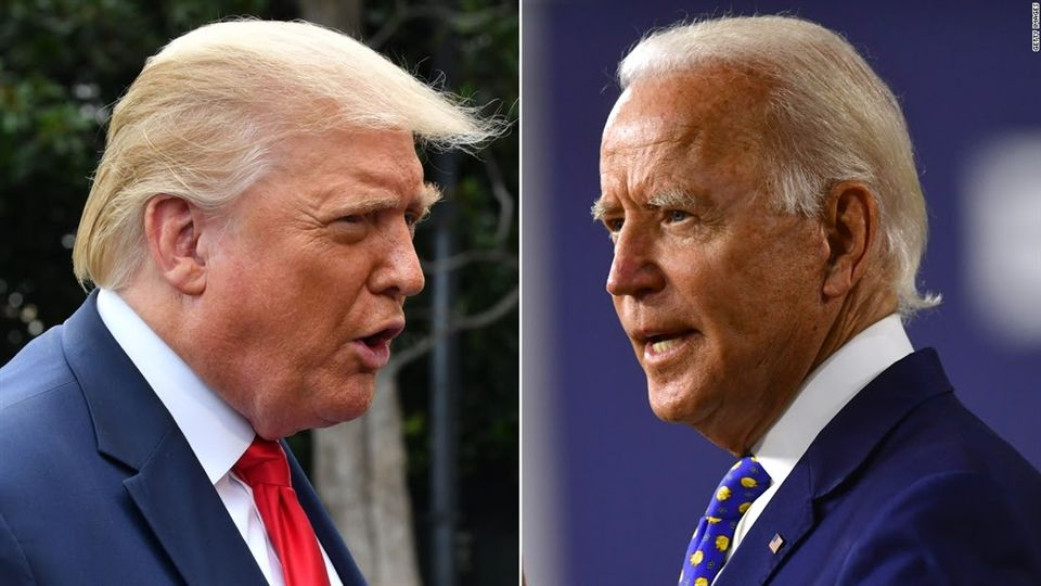 President Donald Trump and Former Vice President Joe Biden face off in the upcoming November election.