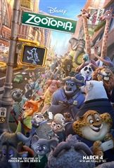 Zootopia is a PG, family-friendly movie that is now playing in theaters. (collider.com)