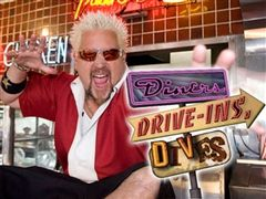 Diners, Drive-ins, and Dives airs on the Food Network Fridays at 10/9 central. (youtube.com)
