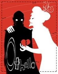 This Othello poster portrays the major themes depicted in the play. Othello has previously been performed in many different settings, ranging from the traditional Elizabethan staging to modern-day Afghanistan.