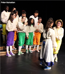 Hopkins drama students perform Shakespeare in a Shoestring: Cymbeline at Hopkins before heading to Scotland.