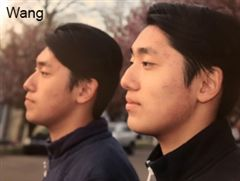 Jake and George Wang '20 stand together, highlighting their twin similarities.