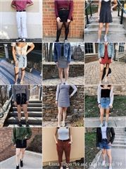 On Instagram, @ourschoolstyle features Hopkins students in stylish outfts from around campus.