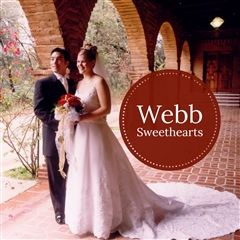 Autumn Rabe Richards '97 and James Richards '97 were married in Vivian Webb Chapel.