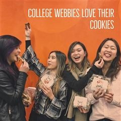 Alicia Zheng '14, Lauren Carpio '14, Kristen Wang '14 and Sage Yang '14 enjoyed their cookies in Chicago.