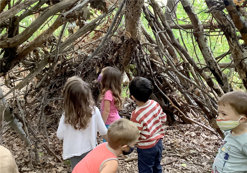 PreK students visit Fresh Pond almost everyday to learn and experience nature in new ways.