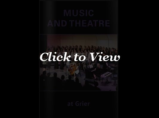 Music & Theatre Viewbook